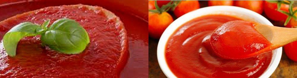 Puré de tomates