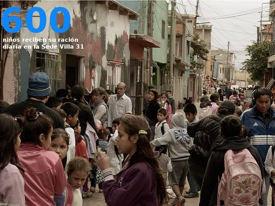 Niños en Villa 31 - Fundación El Pobre de Asís